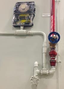 Dust Collector smoke detector