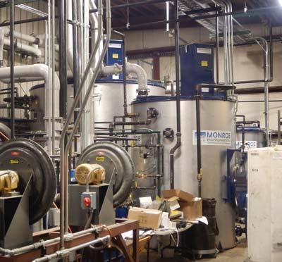 Galvanizing plant wastewater treatment upgrade
