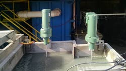 Vertical Clarifier mixers