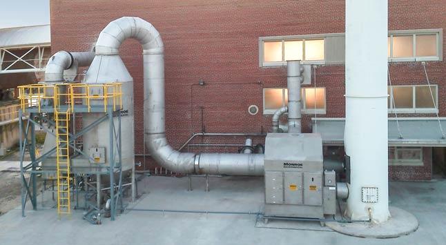Venturi Scrubbers Monroe Environmental