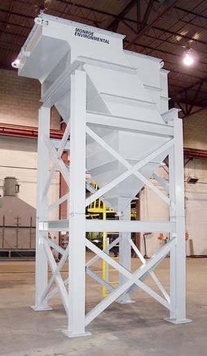 lamella plate vertical clarifier for municipal water treatment