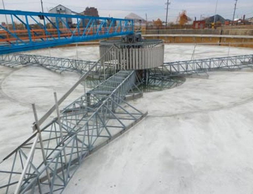 Water | Detroit Wastewater Treatment Plant