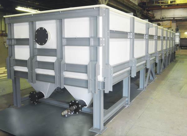 API Separator polypro construction