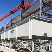 API Separator installation at refinery