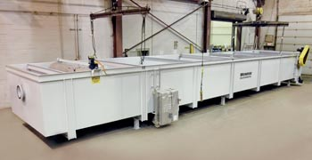 900 GPM API Separator polypro construction