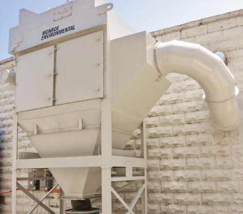 Dust Collector for sandblasting exhaust