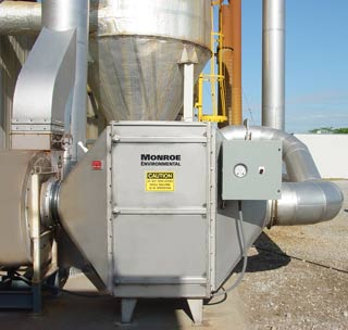 Carbon Adsorber for odor control at granary
