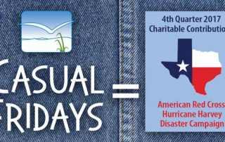 Casual Fridays raise dollars for charitable giving