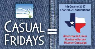 Casual Fridays raise dollars for charitable giving
