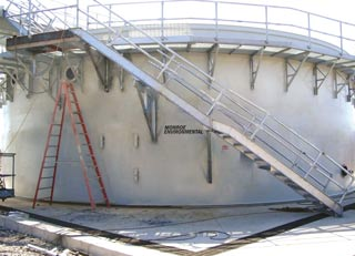Circular Oil/Water Separator