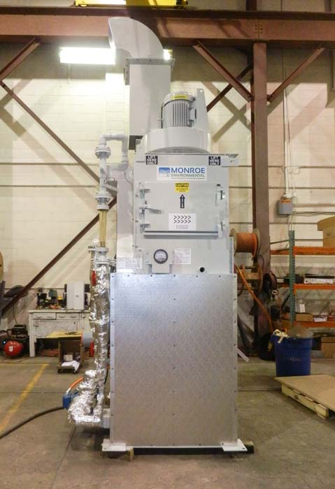 Dual Throat Venturi Wet Scrubber for explosive dust collection