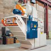 Dual Throat Scrubber with drag conveyor