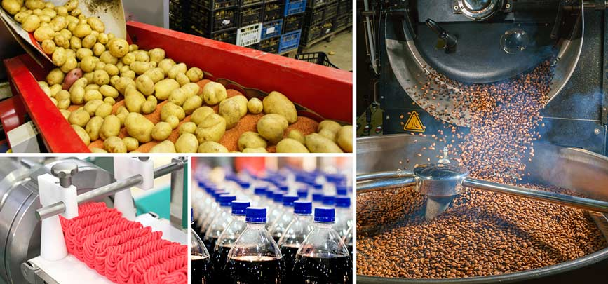 Air and water pollution control solutions for food and beverage production