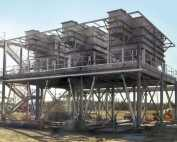 Horizontal Plate Clarifiers provide water re‑use for resins plant