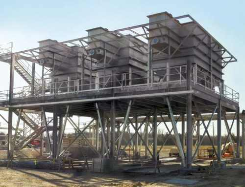 Plate Clarifiers Provide Water Re-Use for Resins Plant
