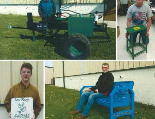 Monroe Environmental Donates Steel to Benefit Local Students