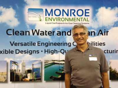 Monroe Environmental President Gary Pashaian
