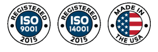Monroe Environmental is registered ISO 9001 and 14001