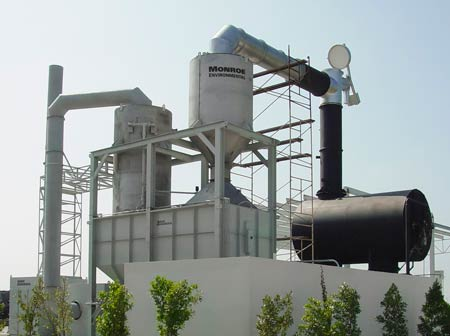 20,000 CFM Multi-Stage Scrubbing System
