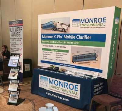 Monroe Environmental featured the X-Flo Mobile Clarifier at the Produced Water Society's Annual Seminar