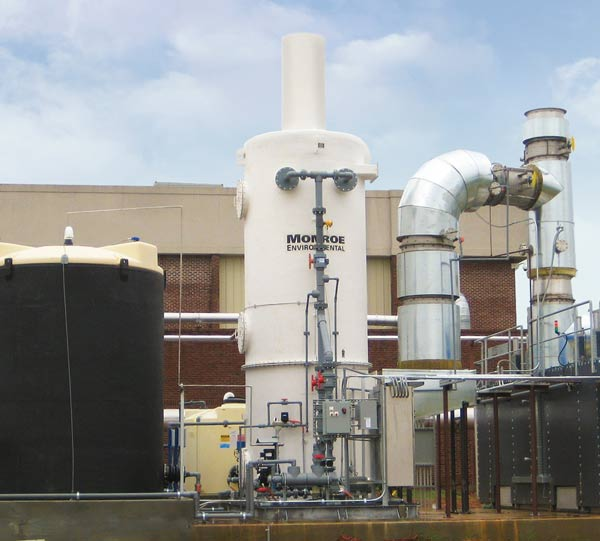 Packed Bed Scrubbers Applications Amp Engineering Monroe