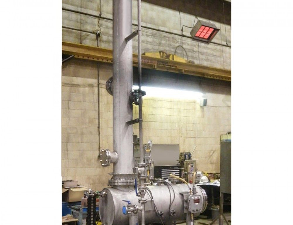 Wet Scrubber Purifies Nitrogen Gas Stream