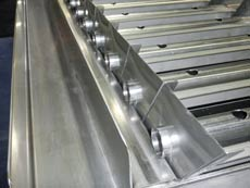 Parallel Plate effluent troughs