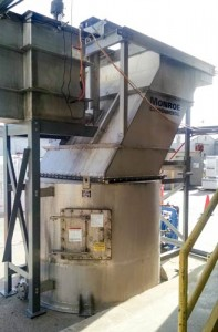 Vertical Clarifier pilot unit