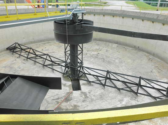 55 ft. Primary Scraper Clarifier