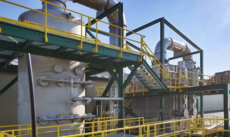 53,000 ACFM Quench Spray Tower