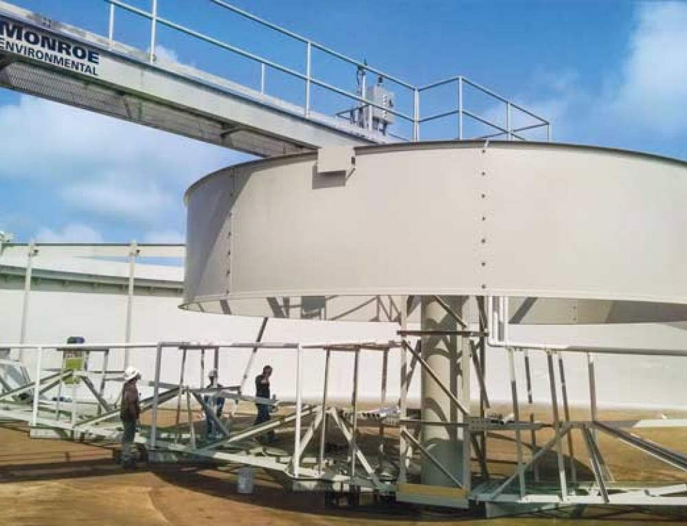 Secondary Clarifier for Polymer Plant