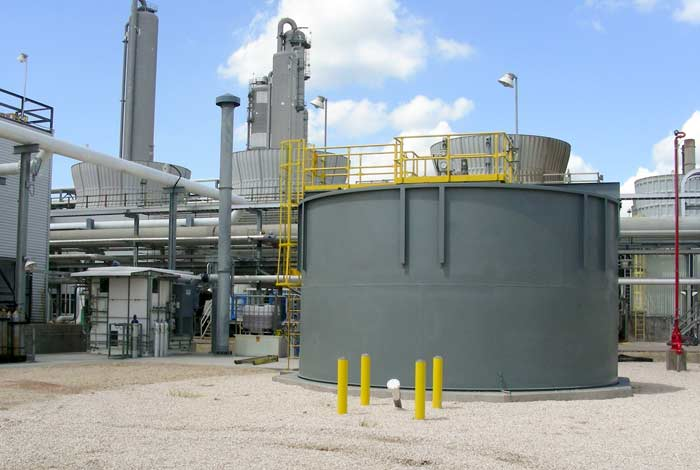 Solids Contact Clarifier for Midstream Oil & Gas Facility
