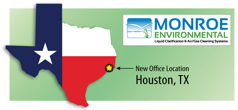 Monroe Environmental's new office location Houston, TX
