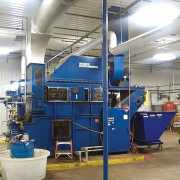Venturi Scrubber for boiler exhaust scrubber