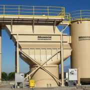 Sand filter backwash Vertical Clarifier at WTP
