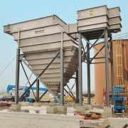1,000 GPM Vertical Clarifier w/ pyramid hopper