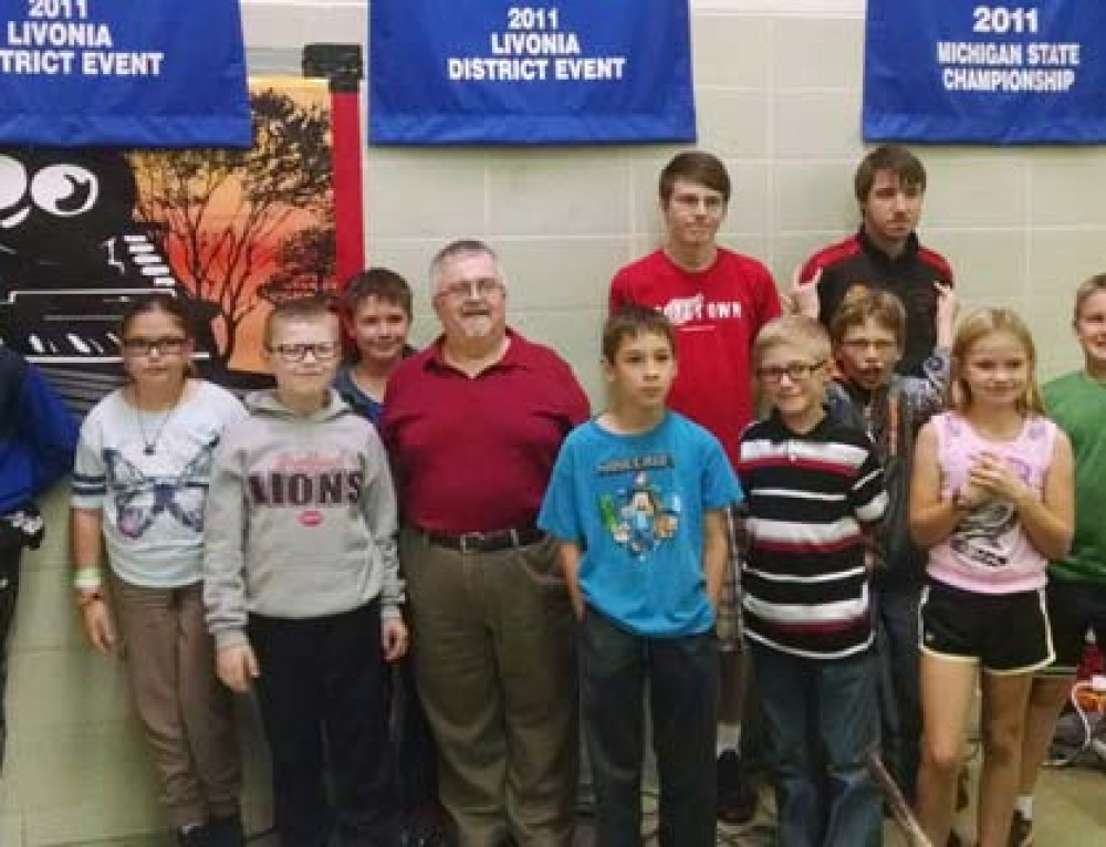 Monroe Environmental Engineer Mentors Local School Robotics Team