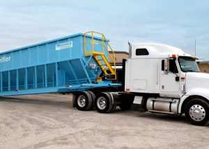 X-Flo Mobile Clarifiers separate and remove settle-able solids as well as floating oils at the same time