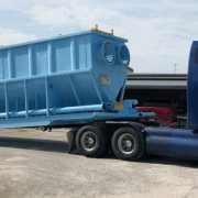 Mobile bypass clarifier