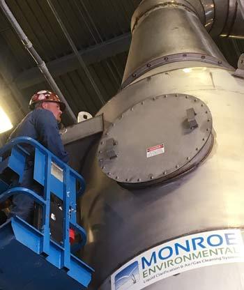 air pollution equipment maintenance