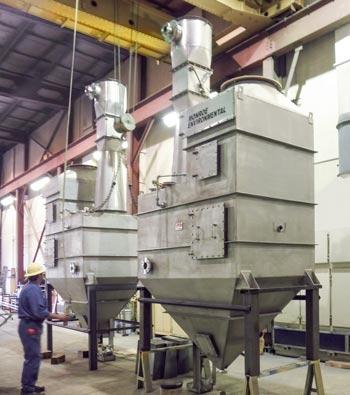 Venturi Scrubbers ready for shipment
