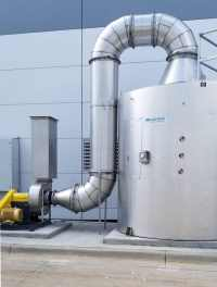 Carbon Adsorber for battery manufacturer's VOC abatement system