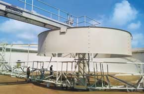 Wastewater treatment Clarifier