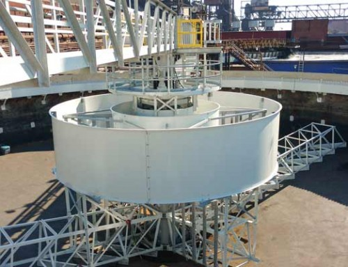 Water | Circular Clarifier for Steel Mill Upgrade