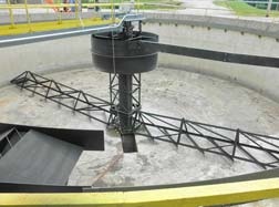 Condition of Clarifier before rebuild