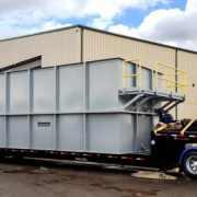 Wastewater aeration tank
