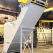 Grit Separator w/ drag conveyor