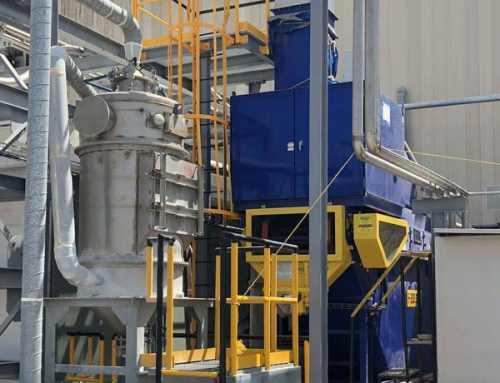 Venturi Scrubber for Plastic Extrusion Line