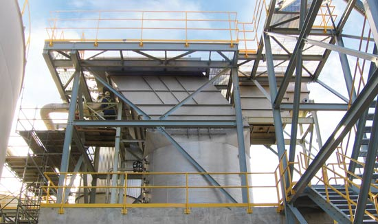 lamella clarifier for metals removal in automotive plant