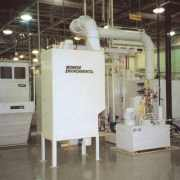 Spiral Tube Mist Collector in automotive plant